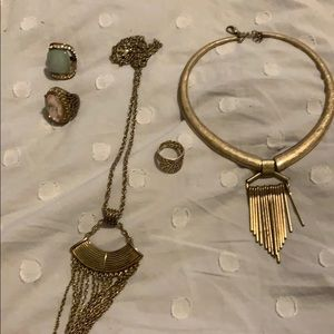 Antique gold  5 item package
